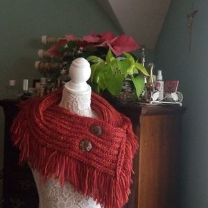 Beautiful hand knit scarve